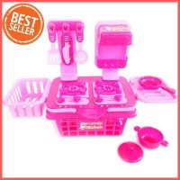 Jual Mainan Anak Perempuan Masak Masakan Warna Pink Jakarta Pusat Ucup Store Id Tokopedia