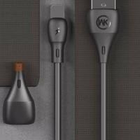 WK Kabel Charger Full Speed Micro USB - WDC-072m - Black