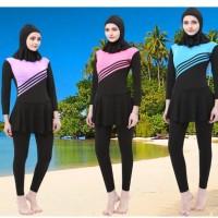 Baju Renang Kerudung Wanita Diving Style Swimsuit Size L - MA2204 -