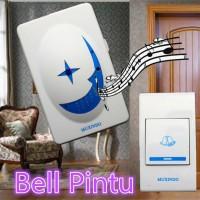 Bell Pintu / Door Bell Wireless / 36 Musik 30m Tanpa Kabel Nirkabel 8