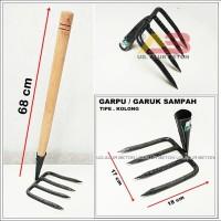 Harga garuk sampah kolong cangkul sampah got pacul garpu | antitipu.com