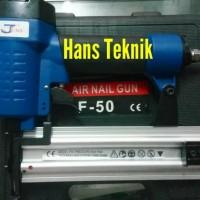 Paket Kompresor Paku Tembak Silent Airnailer F50 Lakoni Fresco 110