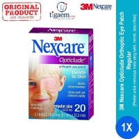 3M Nexcare Opticlude Orthoptic Eye Patch Regular (Penutup Mata)