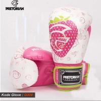 Sarung Tinju Muay Thai Pretorian Pink / Gloves Boxing