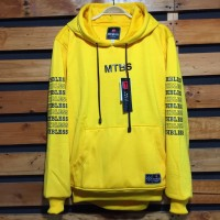 Jaket Sweater Hoodie Mothbless Original - MTBS Yellow 01