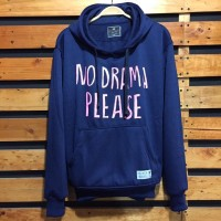 Jaket Sweater Hoodie Mothbless Original - MTBS No Drama Navy