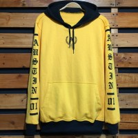 Jaket Sweater Hoodie Mothbless - Austin 01 Yellow