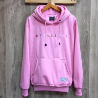 Jaket Sweater Hoodie Mothbless Original - MTBS Pink