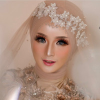 Headpiece Hairpiece faux pengantin perhiasan aksesoris pesta rambut