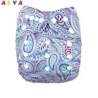 e98947ba41cbc 2019 ALVA Baby Environmental friendly Baby Diaper with 1pc