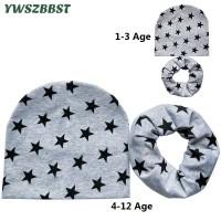 07c7ba7142a66 For 1-12 Years Old Autumn Winter Children Hats Set Crochet Baby Hat
