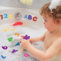 0e3175dfa5b3b 36pcs (26 Letters 10 Number) Baby Foam Letter and Numbers Stickers