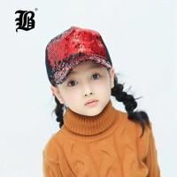 8779b51c5f5ec  FLB  Sequins Sun Cap For Boys Adult Kids Snapback Caps Baby Summer