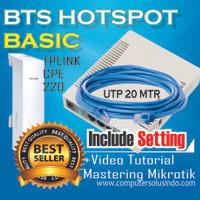 Paket Small BTS Hotspot Dengan Mikrotik RB951Ui-2HnD