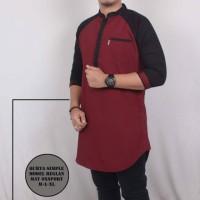 Harga harga promo baju muslim kombinasi model baru slimfit kurta   Pembandingharga.com