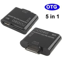 PROMO 5 in 1 USB OTG Connection Kit for Samsung Galaxy Tab