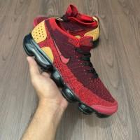 3807f8be0718 Sepatu Sneakers pria wanita nike vapormax 2.0 flyknit burgundi cream