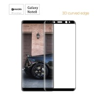 MOCOLO 3D FULL COVER SILK PRINTED COLOR Tempered Glass Samsung Note 8