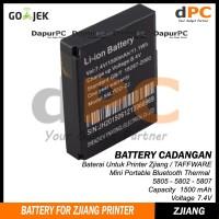 Battery Printer Bluetooth Thermal Zjiang - Taffware 5805 5802 5807