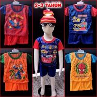 Baju Setelan Anak Laki 2-3 tahun