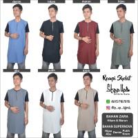 Baju Koko Gamis Muslim Rosal (Rompi Sholat) harga konveksi