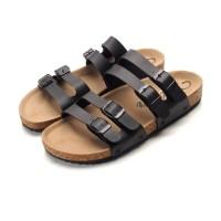 sepatu sandal sendal wudhu eiger gunung kulit jepit slop pria z43