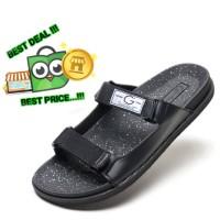 sepatu sandal sendal wudhu eiger gunung kulit jepit slop pria z30