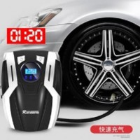 Pompa ban Mobil compact Car inflator electric with LED
