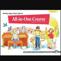 Alfred's Basic All in One Course, Book 1 buku piano children Alfred