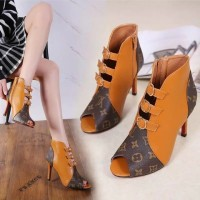 Harga sepatu louis vuitton lv high heels shoes sesuai gambar murah | antitipu.com