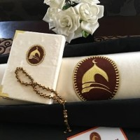 Jual Paket Sajadah Rumbai Al Quran Free Tasbih Cantik Kota Surabaya Sesuatushop Tokopedia