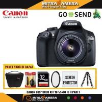 Canon EOS 1300D Kit EF-S 18-55mm f/3.5-5.6 IS II (PAKET)