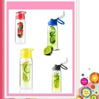 water bottle with infuse fruit juice ( 2nd tritan ) botol air minum