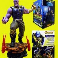 Action Figure Thanos Avengers Infinity War Titan Hero Series 36cm