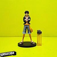 Figure Banpresto One Piece Monkey D Luffy jeans freak Vol.1Baju Hitam