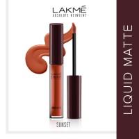 Lakme Classics Reinvent Liquid Matte Lip Color - Sunset