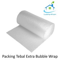 Extra Bubble Wrap untuk Packing