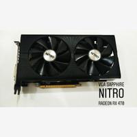 TURUN HARGA Sapphire RX 470 8Gb Miner Edition (Bekas,Msh Garansi)