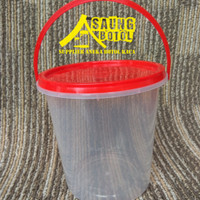 Toples Plastik/Thinwall 1000 ml Natural Tahan Panas