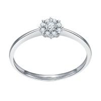 Cincin Berlian Emas Putih