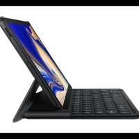 Terpercaya Book Cover Keyboard Samsung Galaxy Tab S4 10 5 2018