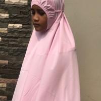 TERJAMIN Mukena anak Siti Khadijah Pasteleena Pink AOOO