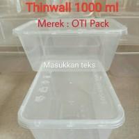 Thinwall 1000 ml Food Container Box Kotak Makan Khusus Gojek, Grab