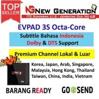 EVPAD 3s Android TV BOX 6K 8CORE BT4.2 USB3.0 WIFI 2.4G Dolb AC3 & DTS