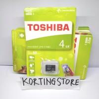 MICRO SD TOSHIBA 4GB / MMC MICRO SDHC TOSHIBA / MEMORY CARD HANDPHONE