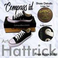 Sepatu Compass Pendek Hattrick 37-43 Free Kaos Kaki
