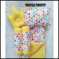 Kualitas Terbaik Trivia Fruity Baby Bed Set Bedcover Selimut Bantal