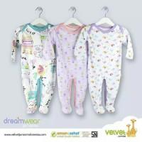 Velvet DREAM WEAR 3Pcs Sleepsuit (GIRL) 9-12m PREMIUM Quality