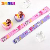 jam tangan anak skmei pink