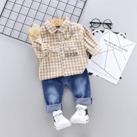 Baju Setelan Anak Laki laki   Kemeja Anak Import   Kemeja Celana Jeans